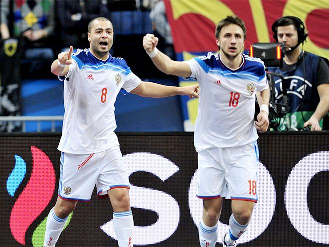 Чемпионат Европы по мини-футболу. Россия вышла в финал