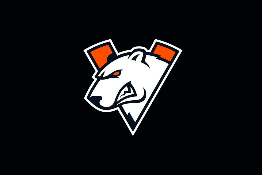 V значит Virtus.pro. Организация представила новый логотип
