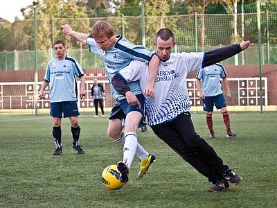 Лига чемпионов бизнеса. Футбол