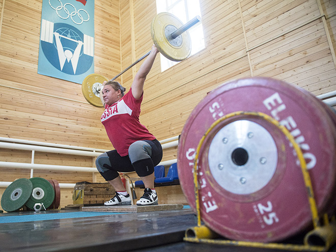 Тяжёлая атлетика. Сборную России отстранили от Игр в Рио-де-Жанейро