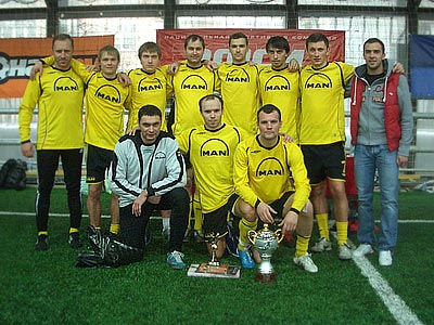 MAN — обладатель EFSI CUP-2010