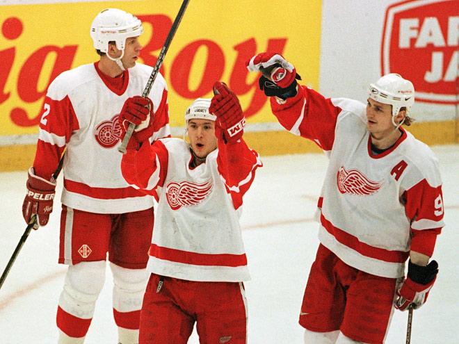 20 лет назад в НХЛ появилась «русская пятёрка»
