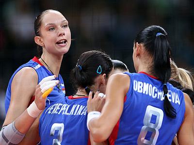 Лондон-2012. Волейбол. Женщины
