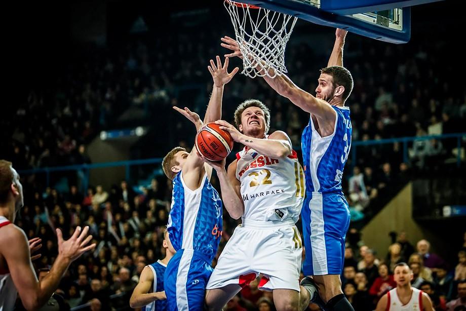 Русские баскетболисты обыграли боснийцев вквалификации Кубка мира