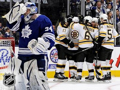 """Торонто"" - ""Бостон"" - 2:5. Матч № 3"