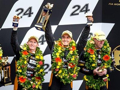 G-Drive Racing на «24 часах Ле-Мана»