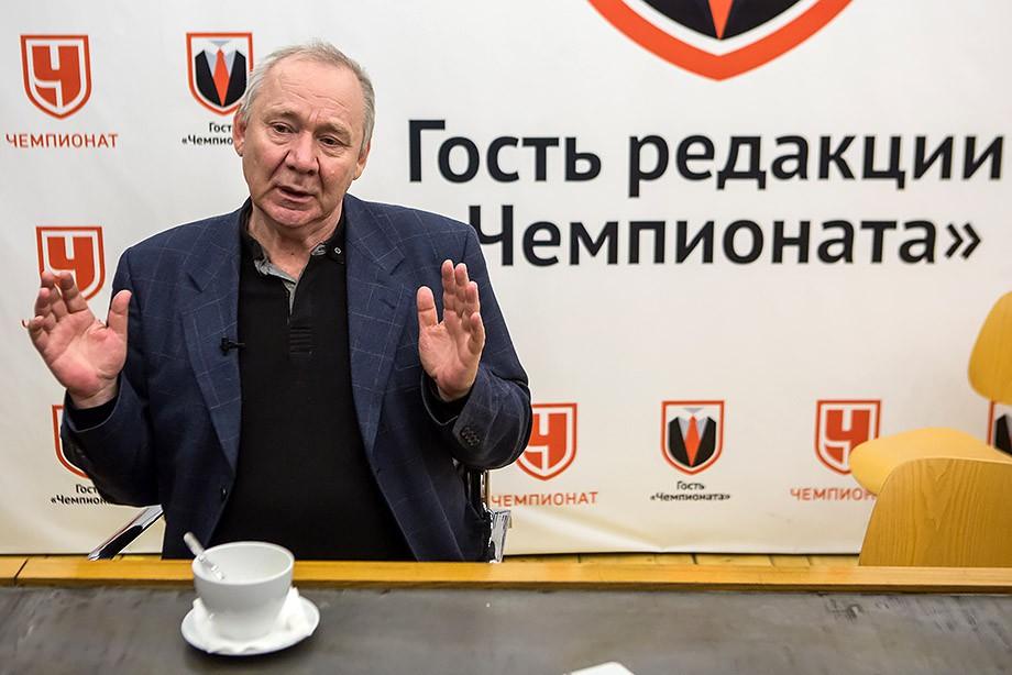 Олег Романцев в гостях у «Чемпионата»