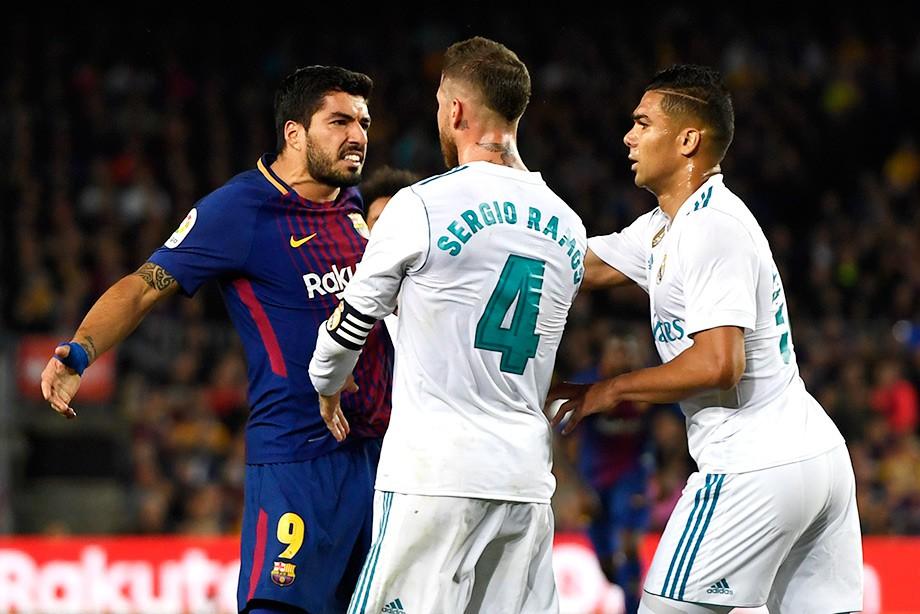 Примера. «Барселона – «Реал» — 2:2