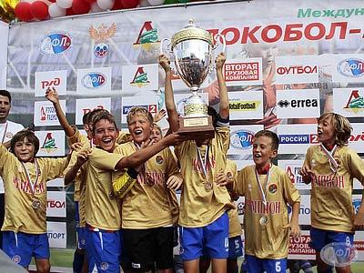 Репортаж о детском международном фестивале «Локобол-2012-РЖД»