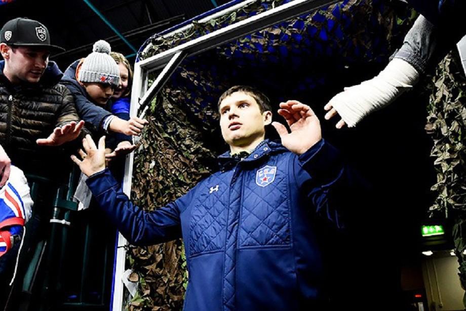 Шипачев отстранен «Вегасом» без сохранения заработной платы