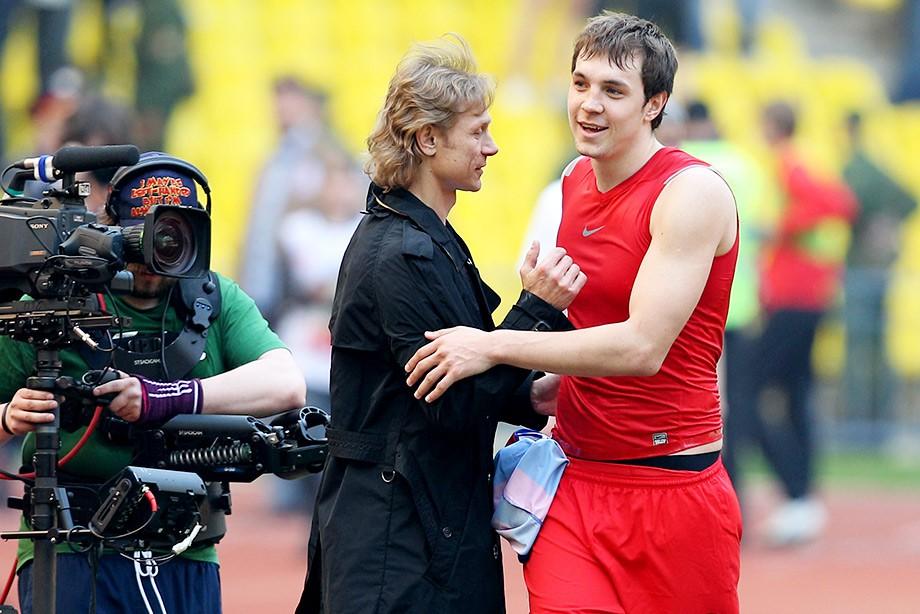 Артём Дзюба и Валерий Карпин
