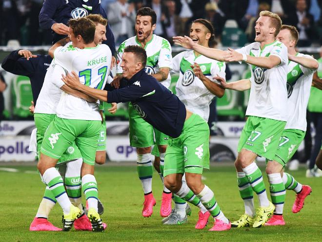 """""""Вольфсбург"""" выиграл Суперкубок Германии"""