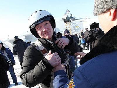 Хоккеисты «Трактора» посетили авиабазу в Челябинске