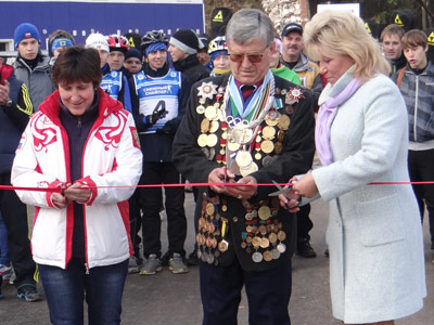 Репортаж о биатлонном центре под Смоленском