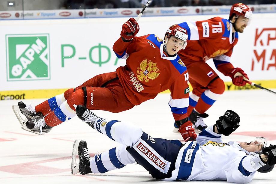 Россия — Финляндия — 1:2