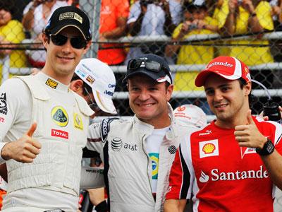 Шесть бразильских гонщиков на смену Массе