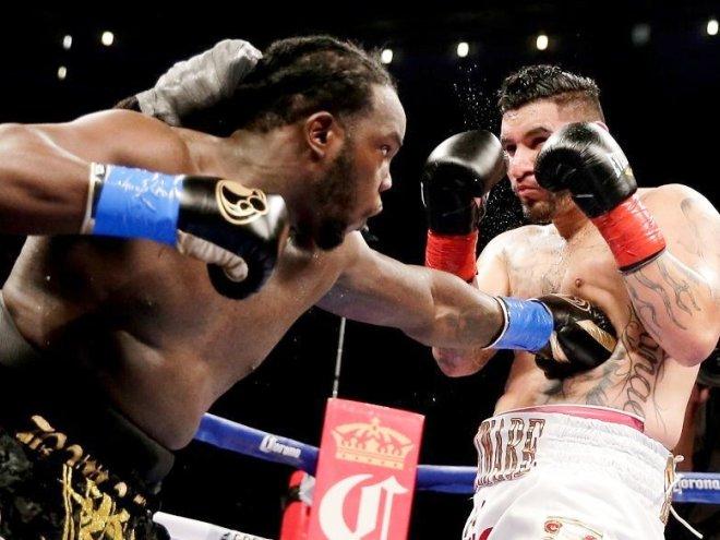 Бермейн Стиверн завоевал вакантный титул WBC