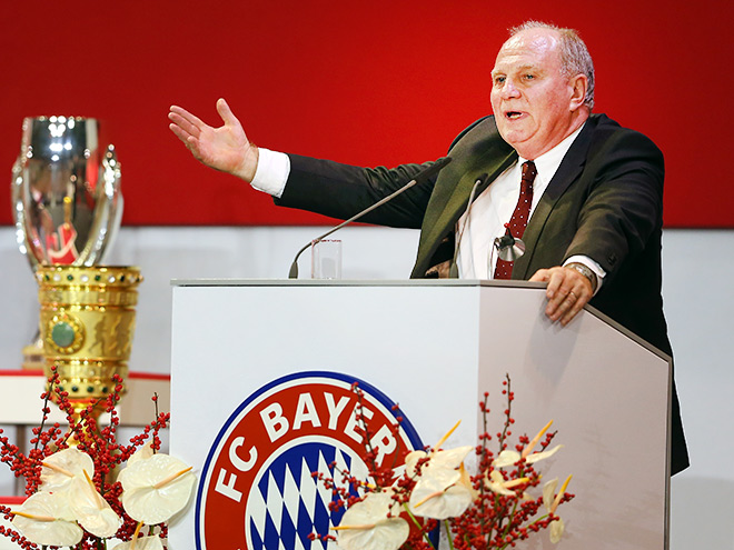 Ули Хёнесс, президент «Баварии»