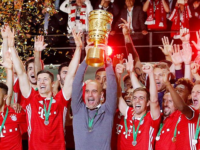 «Бавария» выиграла Кубок Германии