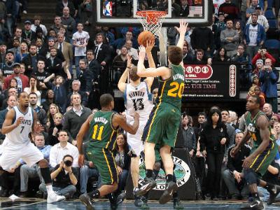 Победные броски Риднура и Эллиса и трипл-дабл Ноа – в обзоре НБА
