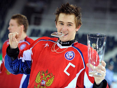 Капитан юниорской сборной России Антон Слепышев – о своей игре в КХЛ