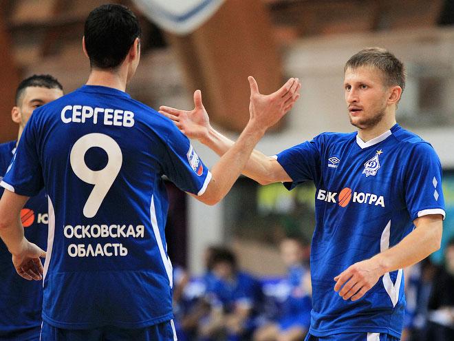Мини-футбол. Суперлига. «Динамо» – «Мытищи» – 6:0