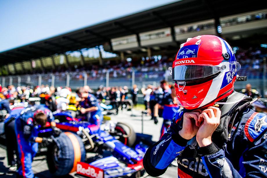 Гран-при Австрии Формулы-1: Даниил Квят