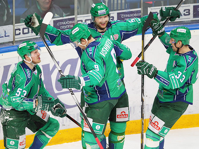 Игроки ХК «Салават Юлаев»