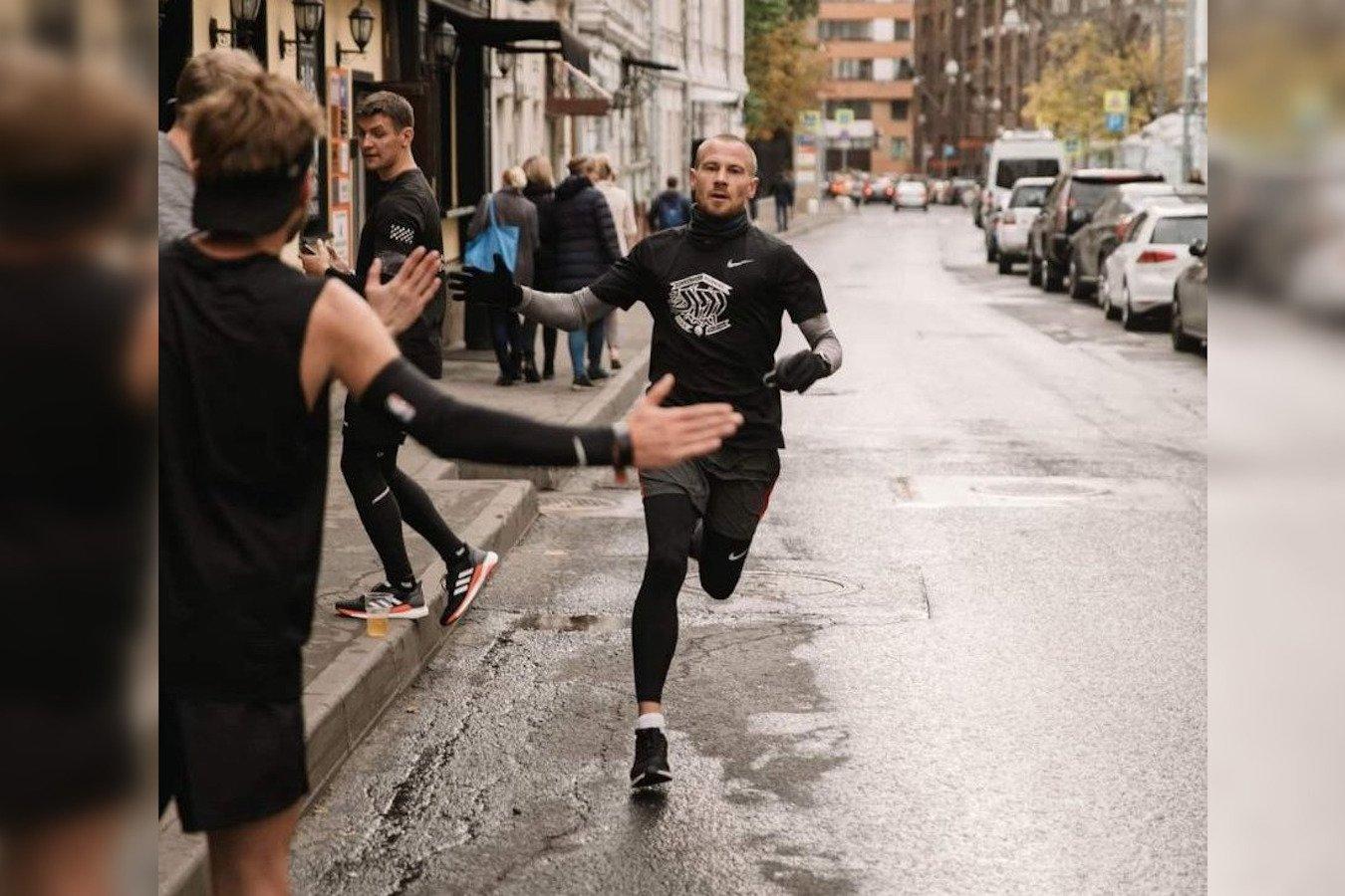 Как марафонец пробежал 163 км до Москвы