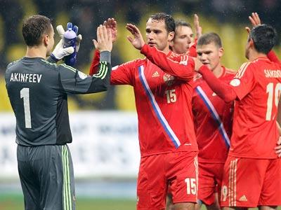 10 фактов по матчам сборной России