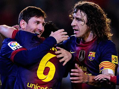 «Барселона» продлила контракты с тремя лидерами