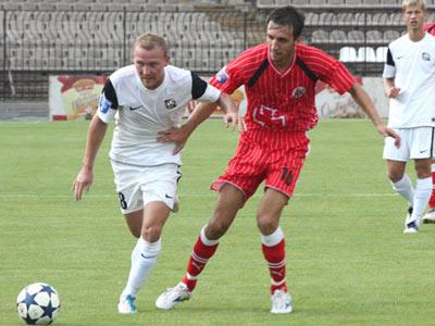 «Кривбасс» выиграл в Кривом Роге у «Волыни» - 1:0