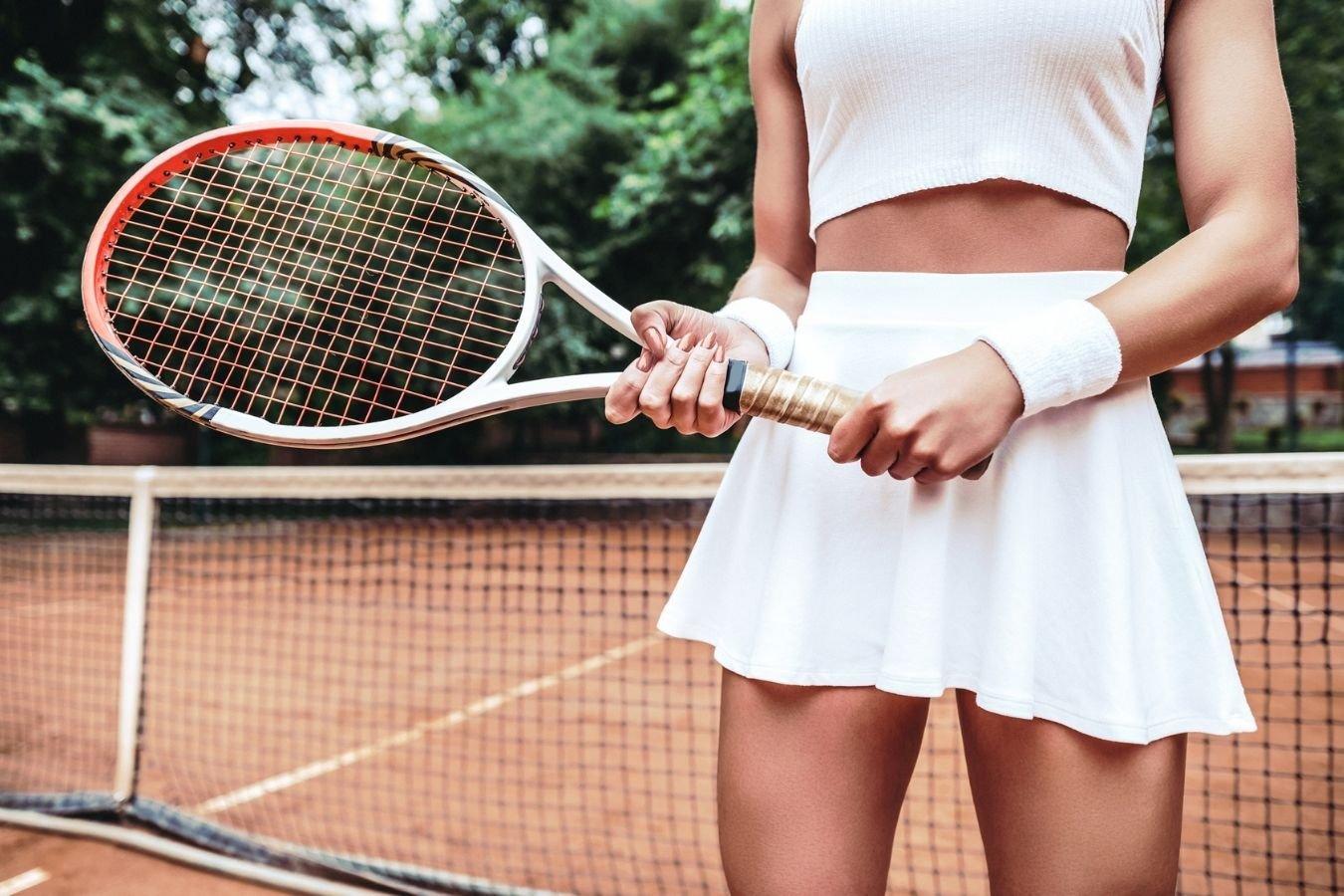Теннисная юбка-всё ещё тренд