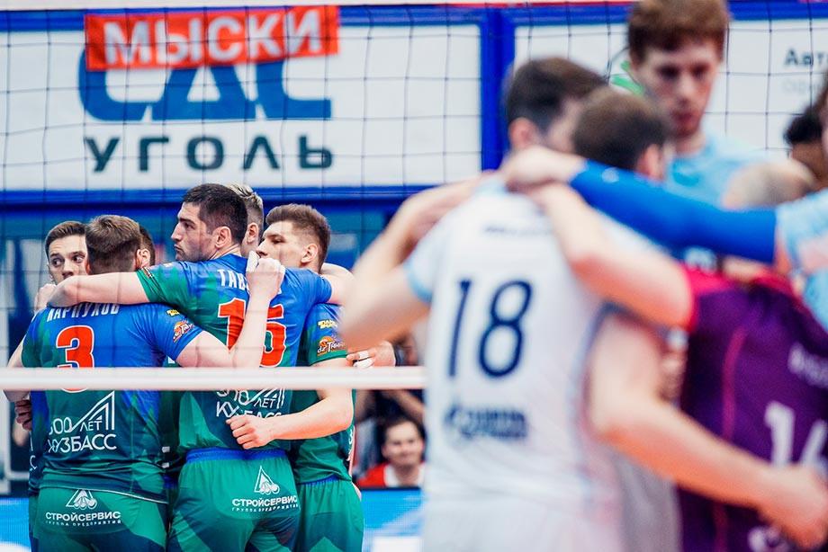 «Кузбасс» обыграл «Зенит-Казань» и стал чемпионом России по волейболу