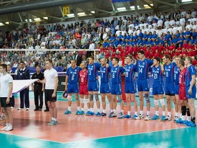 Сборная России вылетела из Мировой лиги