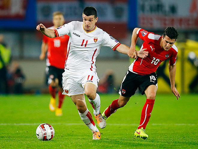 Черногория – Австрия
