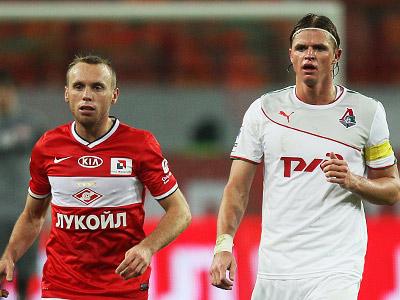 Денис Глушаков и Дмитрий Тарасов