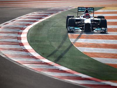 Анализ квалификации Гран-при Индии Формулы-1