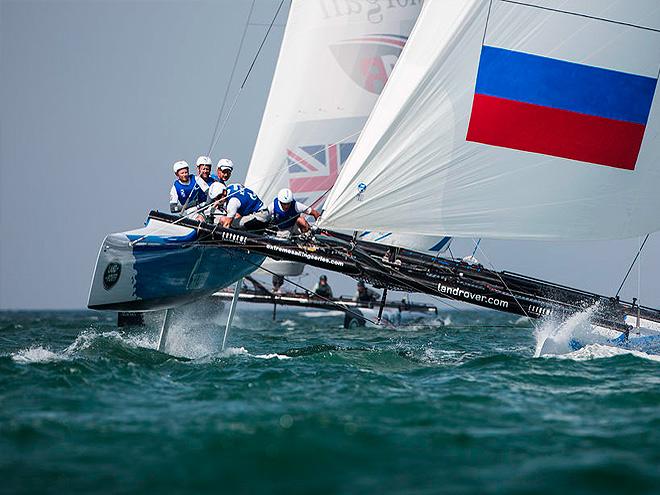 В Омане прошёл второй этап Extreme Sailing Series