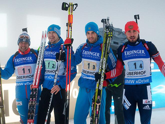 Мужская сборная России по биатлону на ЧМ-2015