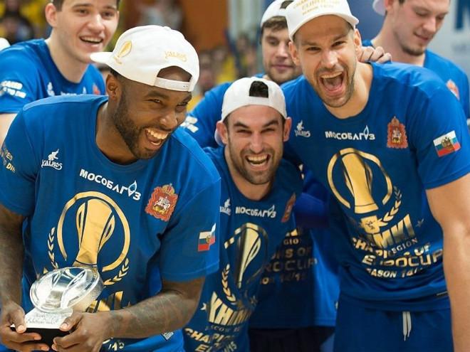 «Химки» завоевали баскетбольный Еврокубок