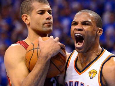 У Дюранта и Уэстбрука одинаковые шансы на титул MVP финальной серии