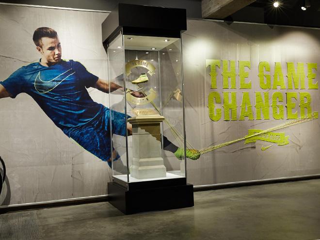 Успехи Nike на чемпионатах мира по футболу