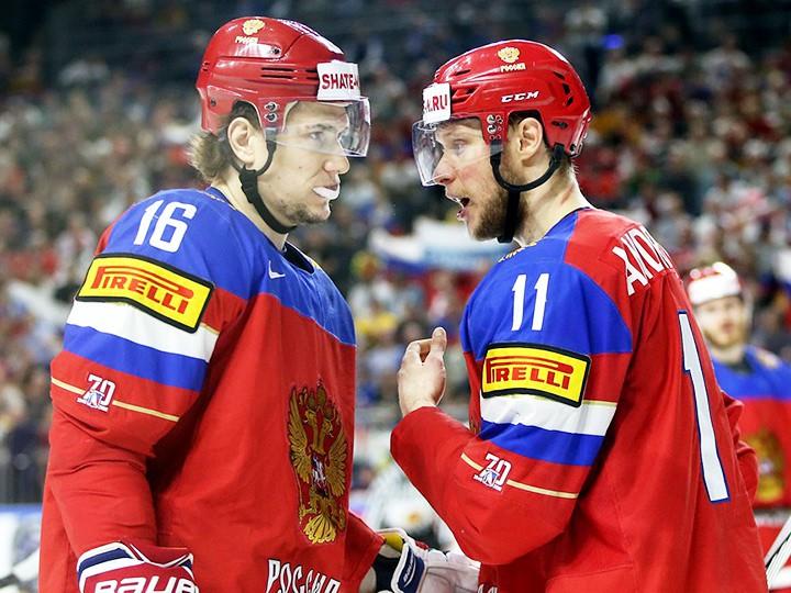 Как жители России  сыграли сканадцами вполуфинале чемпионата мира похоккею?