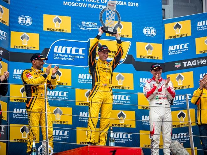 Онлайн-трансляция российского этапа WTCC на Moscow Raceway