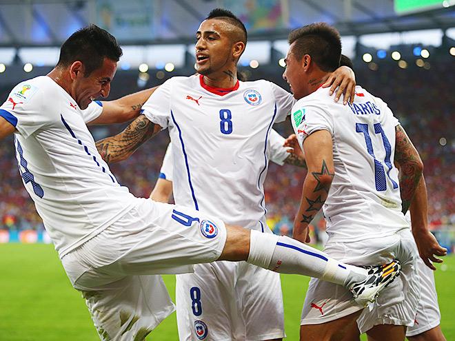 Чили — Испания — 2:0
