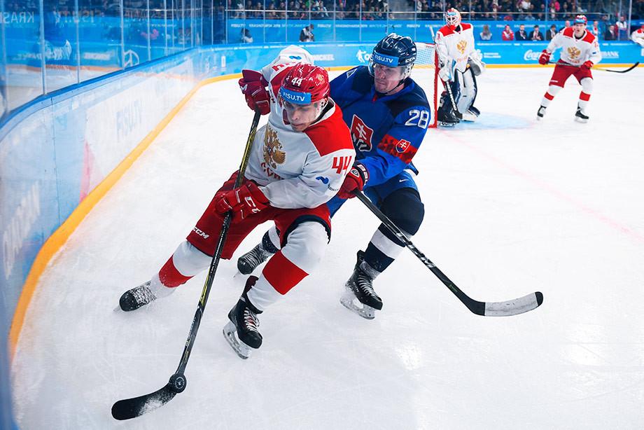 Словакия – Россия – 1:2 ОТ, Универсиада-2019