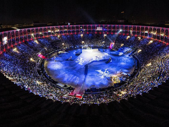 Паже выиграл Red Bull X-Fighters в Мадриде