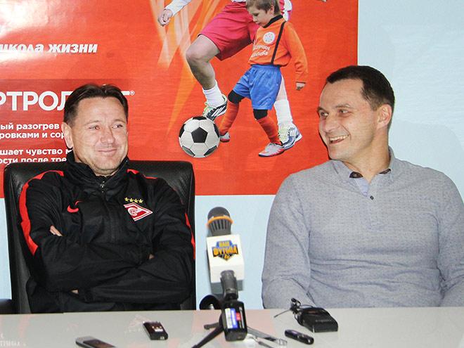 Дмитрий Аленичев и Андрей Кобелев