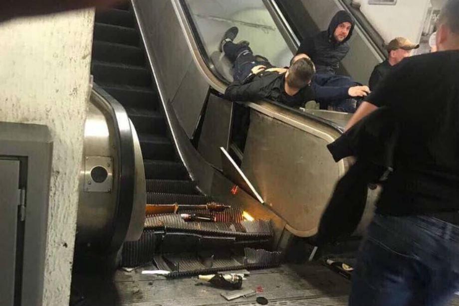 Страшная авария в римском метро и драки в городе. Более 30 пострадавших. LIVE